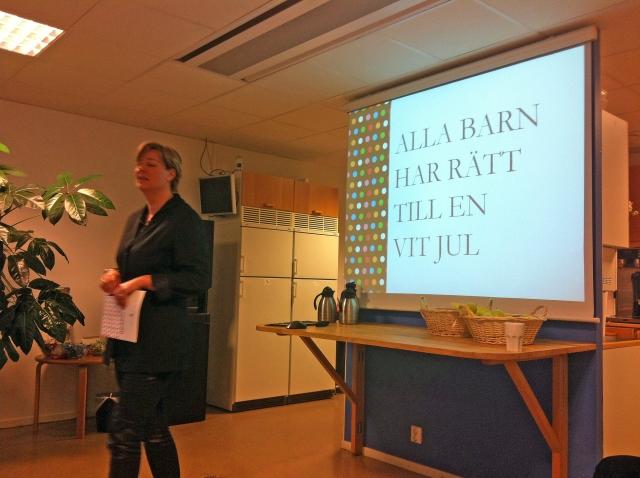 Anna Carlstedt pratar om Vit Jul
