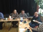 Vi diskuterade i grupper kring våra styrkor och utmaningar när vi värvar