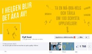 Fyll livet på Facebook